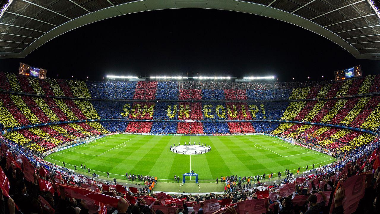 Stadion Barcelona Fußballtrip
